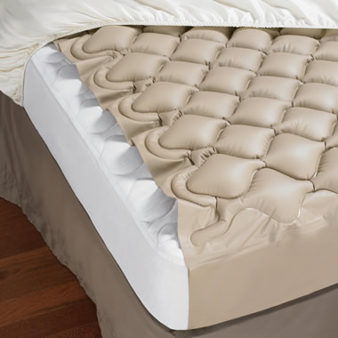 The Circulation Enhancing Mattress Pad.