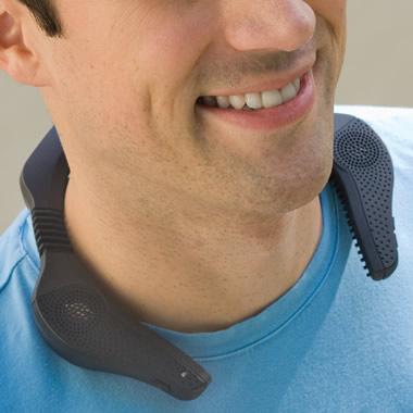 The Stereo Neckphones.