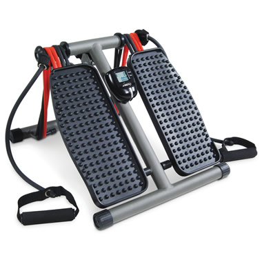 The Circulation Improving Seated Stepper.