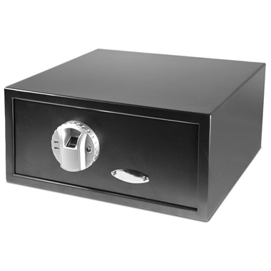 The Fingerprint Authenticating Safe.
