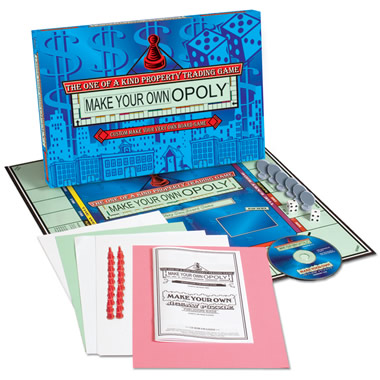 The Design Your Own Monopoly Game.