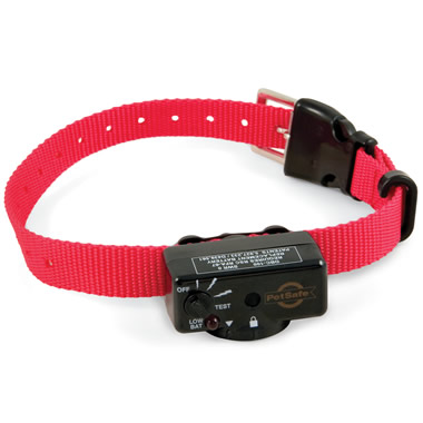 The Bark Deterring Static Collar.