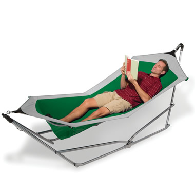 The Ergonomic Hammock.