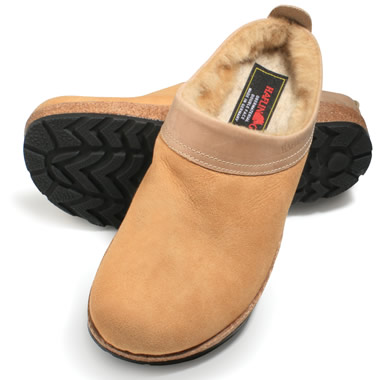 The Arch Support Shearling Clogs.