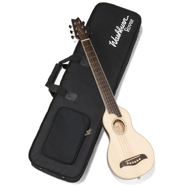 The Acoustic Travel Guitar.