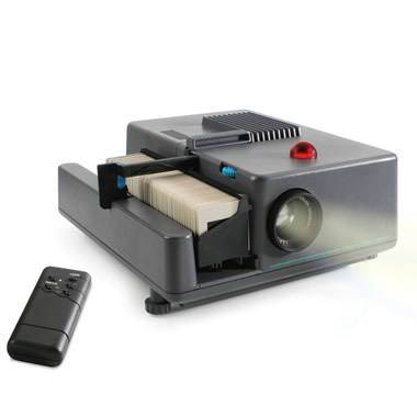 The Classic Slide Projector.