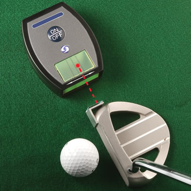 The Laser Alignment Putting Trainer.