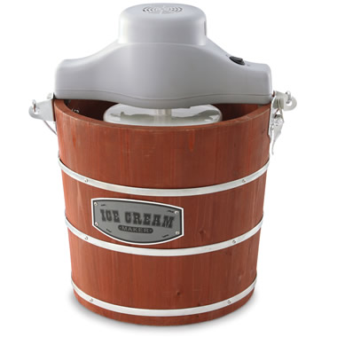 The Automatic Bucket Ice Cream Churn.