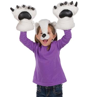 The Wearable Polar Bear Puppet