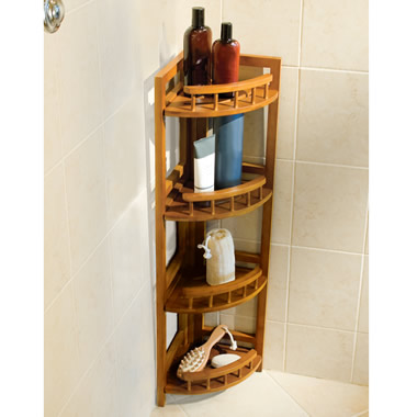 The Bamboo Shower Organizer.