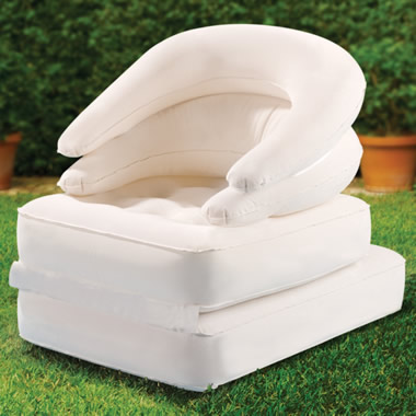 The Convertible Inflatable Lounger.