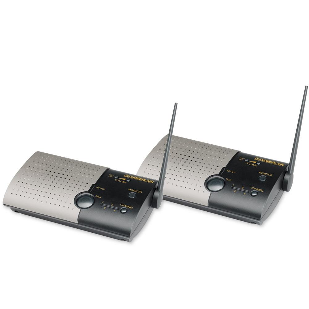 The Wireless Home Intercom System Hammacher Schlemmer
