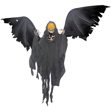 The Flying Winged Grim Reaper.