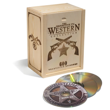 The 600 Classic Television Westerns Collection.
