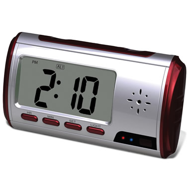 The Alarm Clock Surveillance Camera.