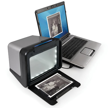The Desktop Photograph To Digital Picture Converter
