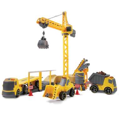 The Remote Controlled Construction Site