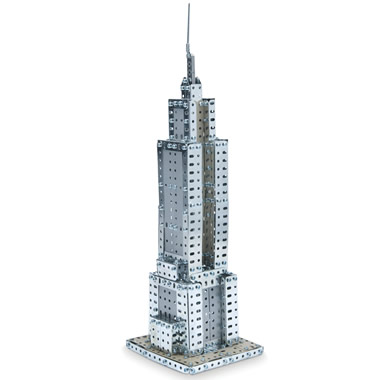 The Empire State Building Erector Set.