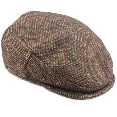 The Classic Irish Tweed Cap.