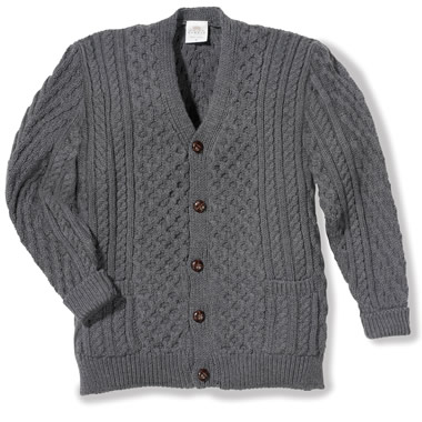 The Blueface Leicester Wool Cardigan.