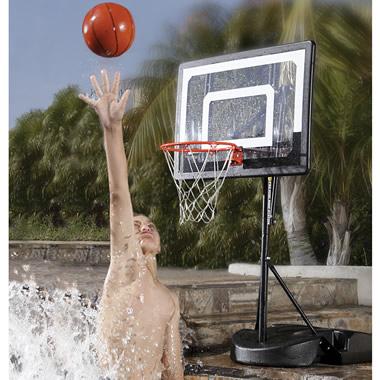 The Pool To Pavement Basketball Hoop