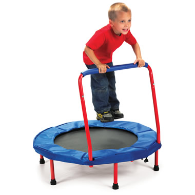 The Foldaway Children's Trampoline.