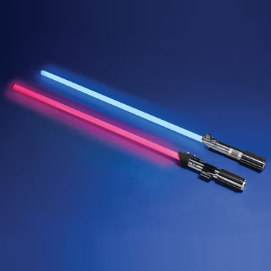 The Star Wars Lightsaber (Darth Vader).