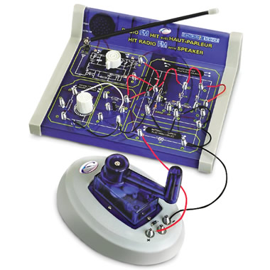 The Create Your Own FM Radio Kit.