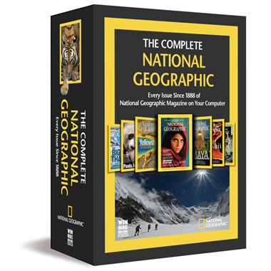 The Complete National Geographic Magazine Collection.