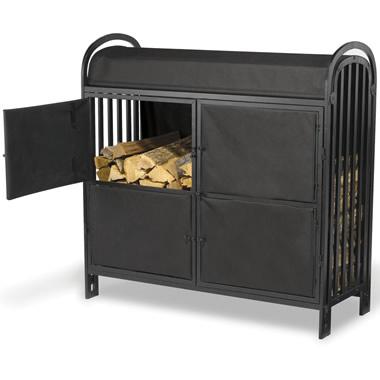 The Dutch Door Log Crib.