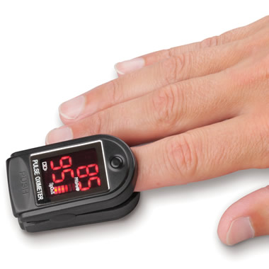 The Fingertip Heart Rate Monitor.