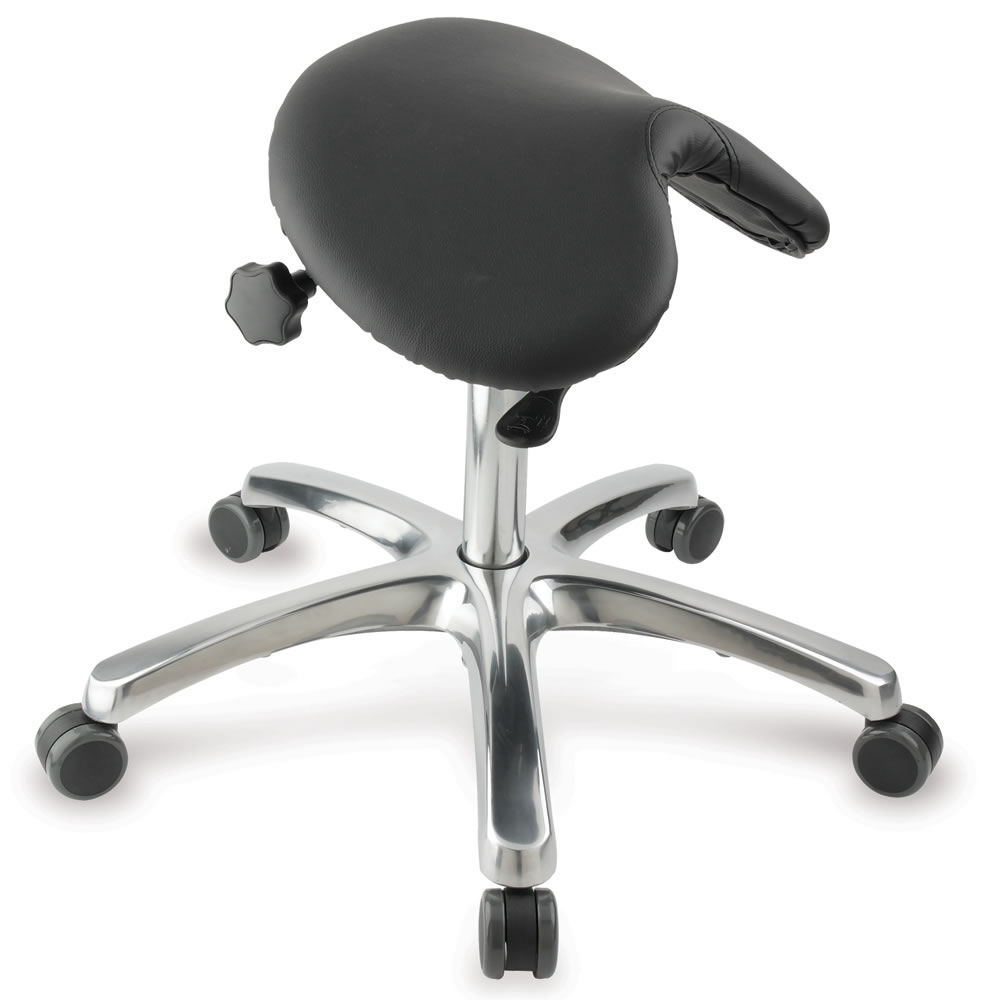 The Posture Improving Saddle Seat Hammacher Schlemmer
