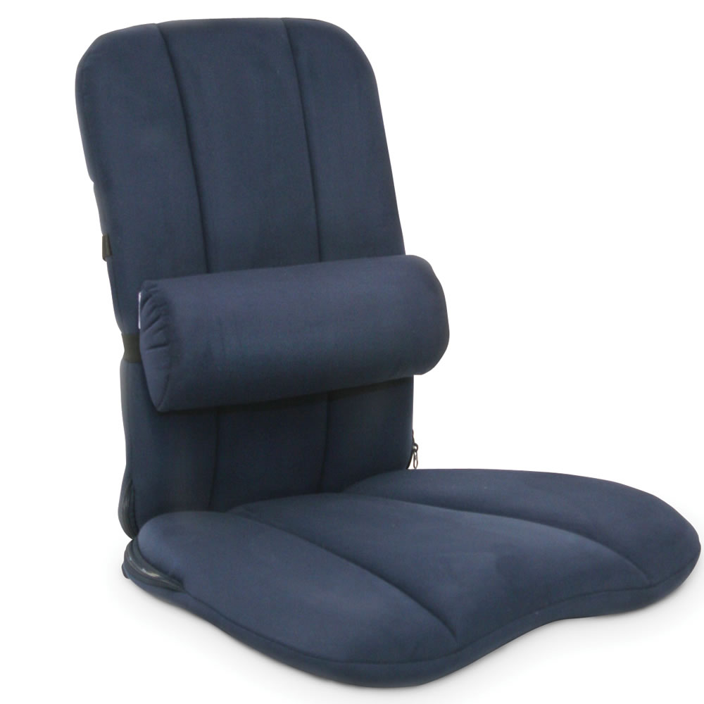 The Back Pain Relieving Seat Cushion - Hammacher Schlemmer