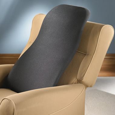 The Acoustic Vibration Backrest.