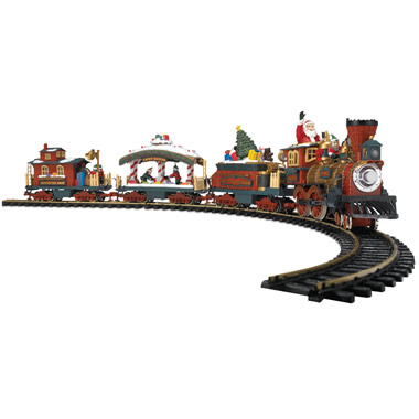 The Animated Holiday Train Set.