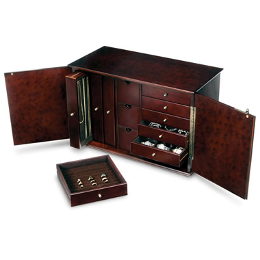 The 12 Drawer Jewelry Bureau.