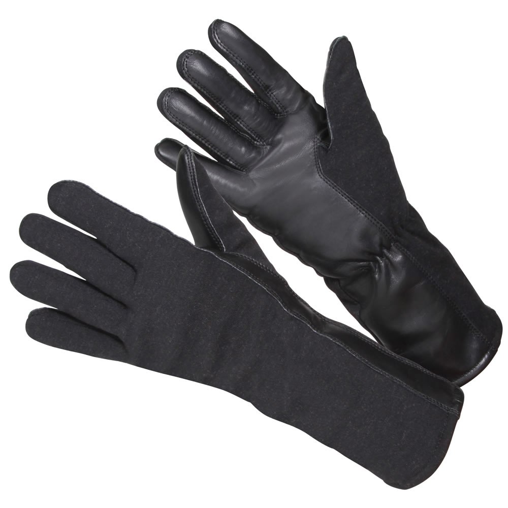 The U S Air Force Flight Gloves Hammacher Schlemmer