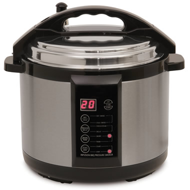 The Only 5-Quart Indoor Pressure Smoker