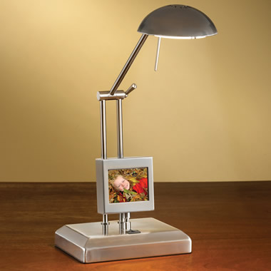 The Digital Photo Frame Lamp.