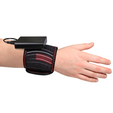 The Cordless Carpal Tunnel Relief Heat Wrap.