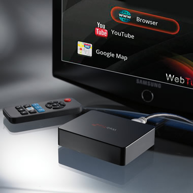 The Television To Internet Converter.