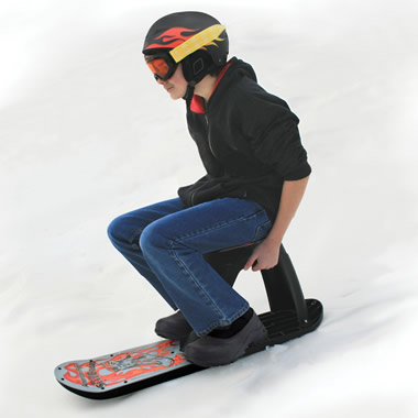 The Seated Sled Board.