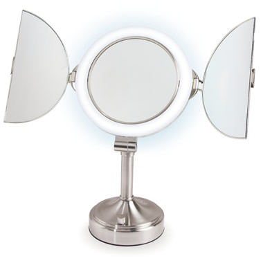 The Only Complete View Pedestal Mirror