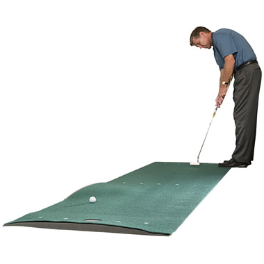 The Adjustable Break Putting Green.