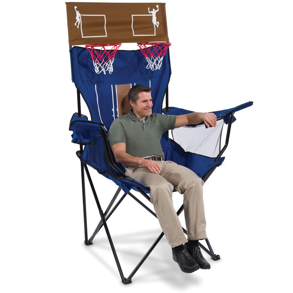 The Brobdingnagian Basketball Chair  sc 1 st  Hammacher Schlemmer & The Brobdingnagian Basketball Chair - Hammacher Schlemmer