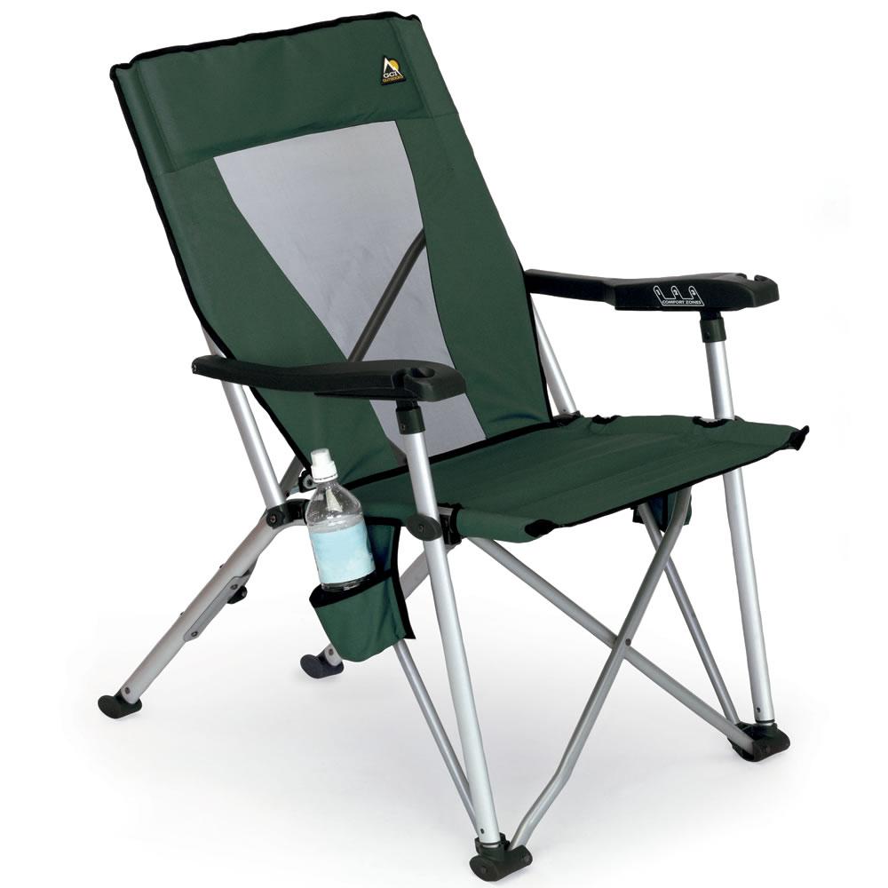 The Reclining Portable Chair Hammacher Schlemmer
