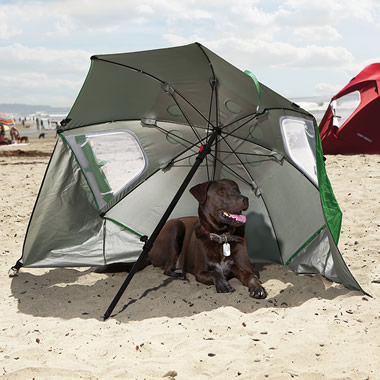 The Canine's Instant Sun Shelter.