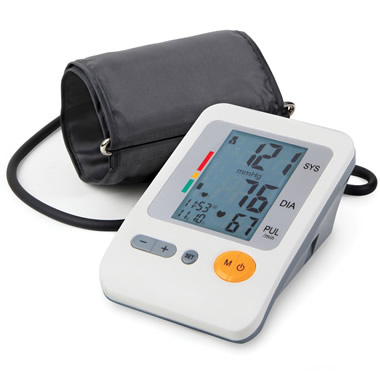 The Irregular Heart Beat Detecting Blood Pressure Monitor