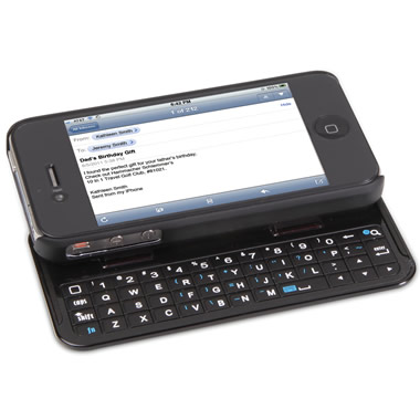 The iPhone Slide Out Keyboard