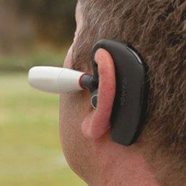 The Bluetooth Headset Camcorder.